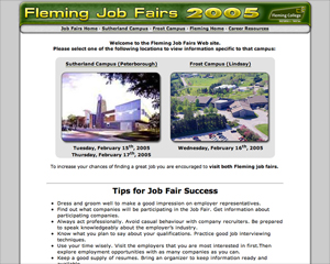 Fleming Job Fairs of 2005